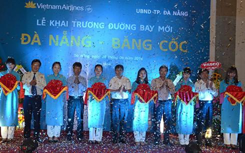 Việt Nam Airlines khai trương đường bay Đà Nẵng - Bangkok