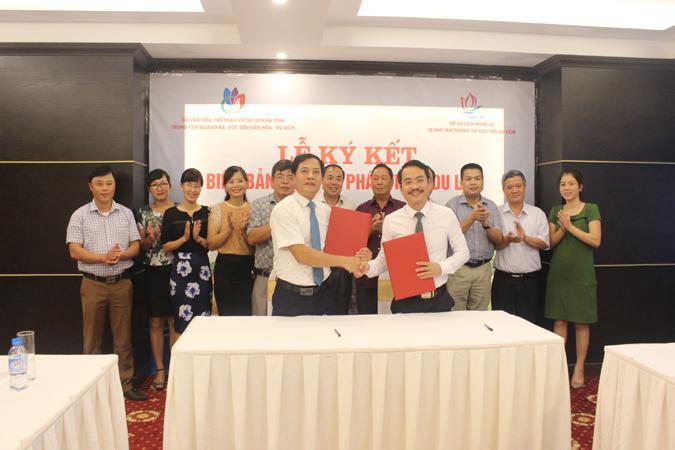 Ký kết hợp tác phát triển du lịch Nghệ An – Hà Tĩnh