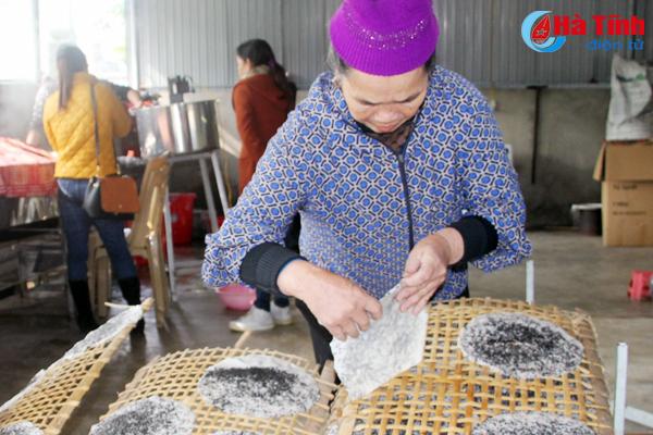 Giòn thơm bánh đa Việt Xuyên