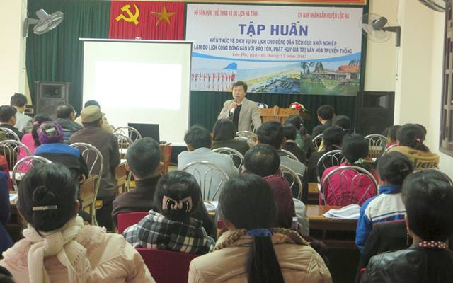 Tập huấn nâng cao nhận thức về phát triển du lịch cộng đồng