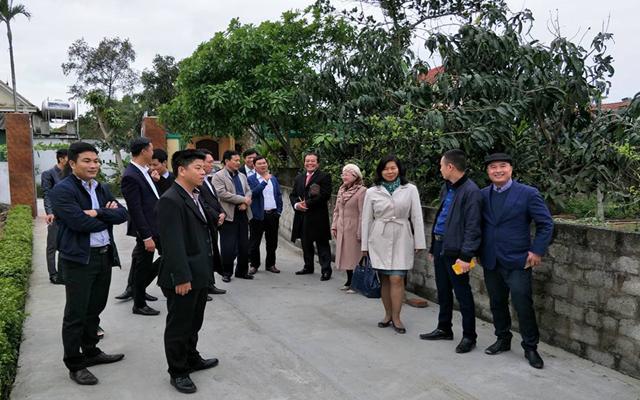 Đoàn Famtrip khảo sát du lịch tại huyện nghi Xuân