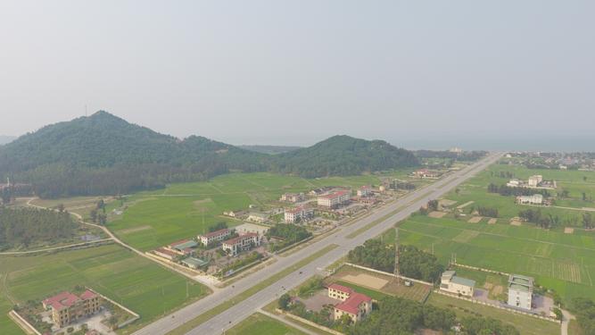 Một góc huyện Lộc Hà