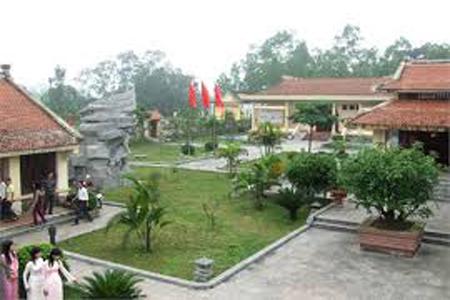 Khu di tích cố Tổng Bí thư Hà Huy Tập